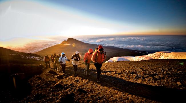 MOUNT KILIMANJARO ROUTES.