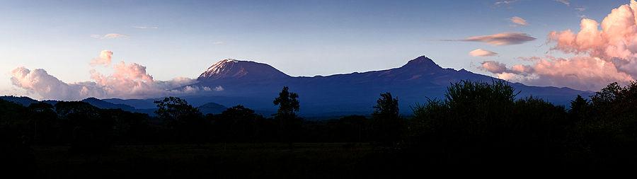 The_Kibo_and_Mawenzi_Cones_of_Mt._Kilimanjaro