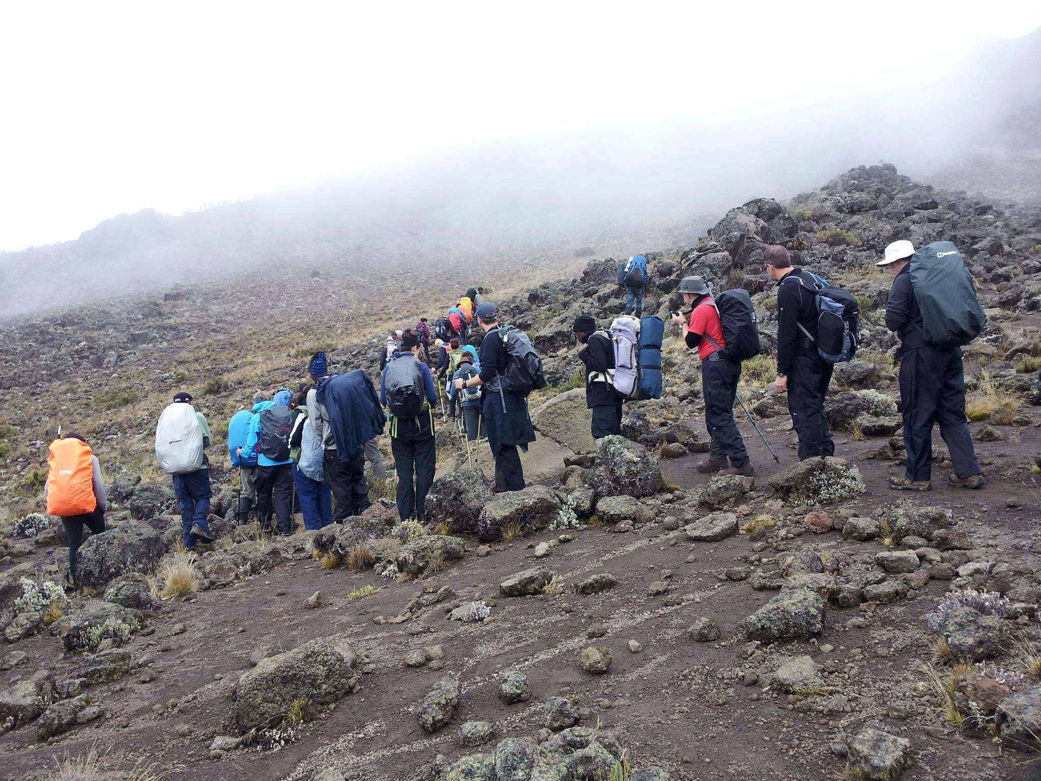 6 Days Kilimanjaro Machame Route.