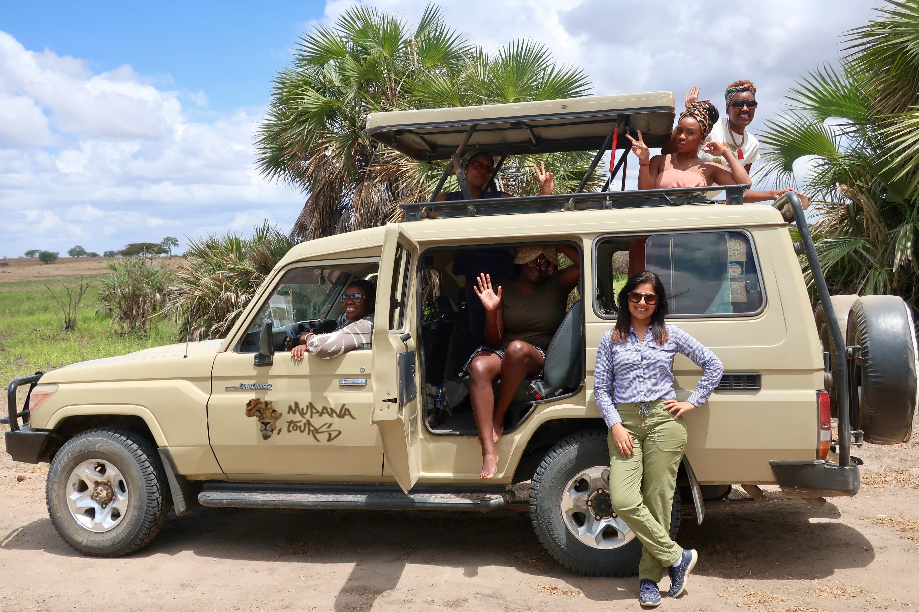 Game Drive At Selous National Park