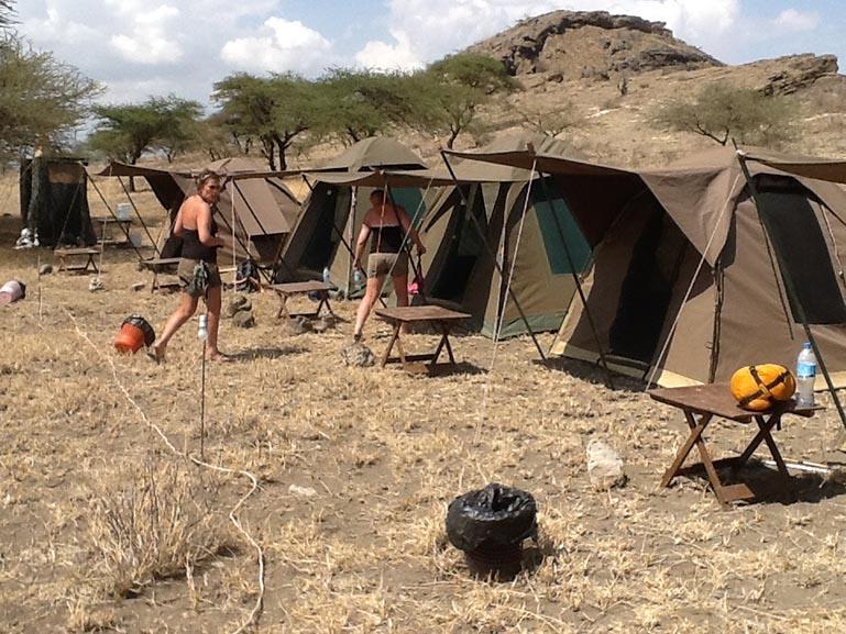 6 Days Tanzania Budget Camping Safari.