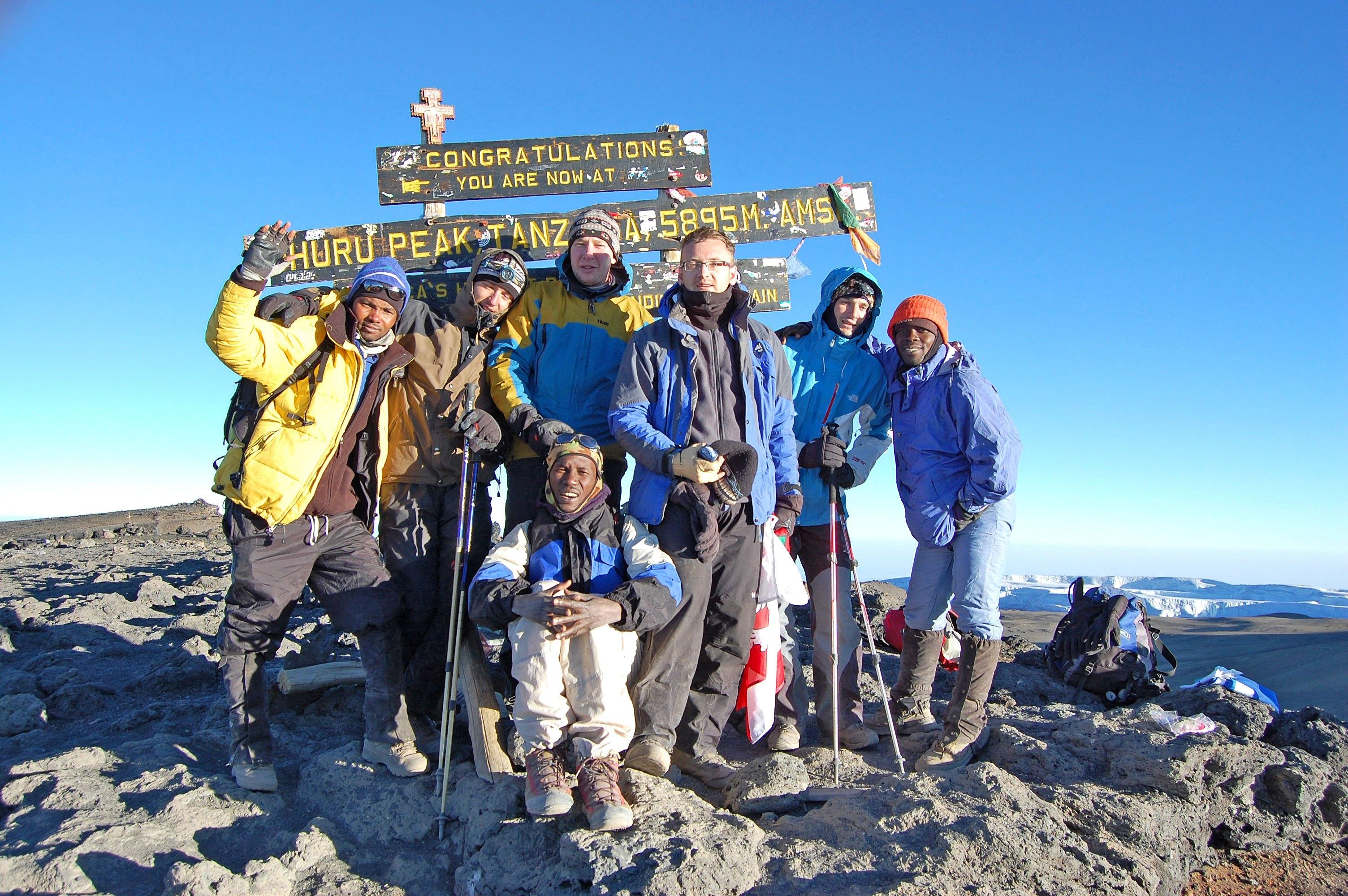 8 Day Mount Kilimanjaro Trekking And Camping Wildlife Safaris