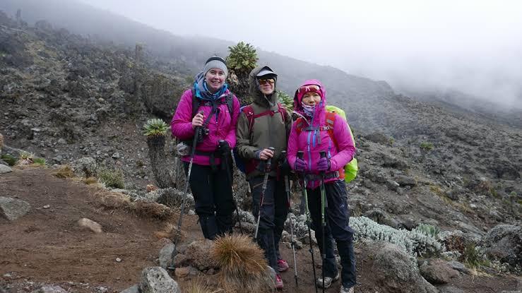 10 Machame Route-Women Trekking Experience